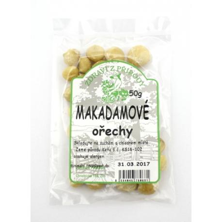 Makadamové ořechy 50g