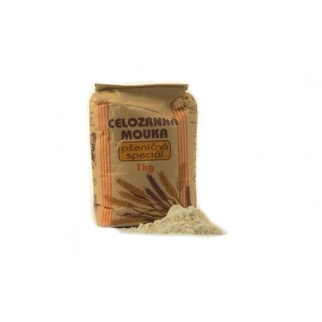 Celozrnná mouka pšeničná speciál 1kg