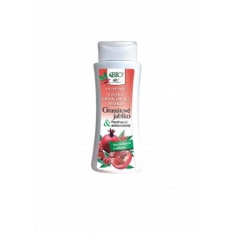 Ochranné čistící odličovací tonikum GRANÁTOVÉ JABLKO s antioxidanty 255ml