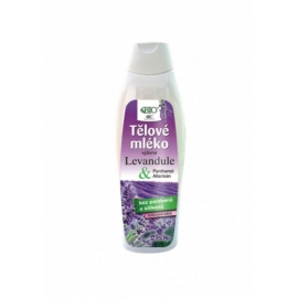 Tělové mléko LEVANDULE 500ml