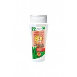 Opalovací mléko DUO SUN OF 20 Cannabis + Panthenol 265 ml