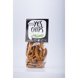 Chipsy hrachové s mákem YES CHIPS 80g