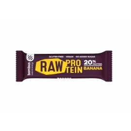 Bombus raw protein tyčinka BANANA 50g