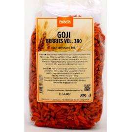 Goji berries, vel. 380, Provita 300g