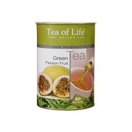 Porcovaný zelený čaj mučenka Tea of Life 90g