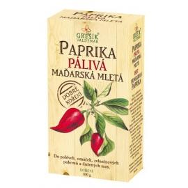 Paprika pálivá maďarská mletá grešík 100g
