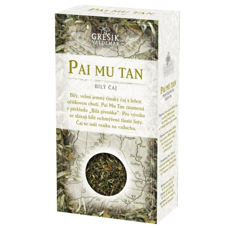 Pai Mu Tan bílý čaj Grešík 50g