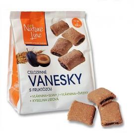 Vanesky celozrnné sušenky Nature Line 200g