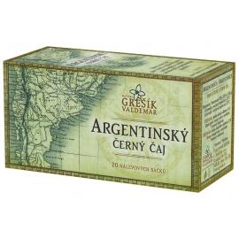 Argentinský černý čaj Grešík 50g