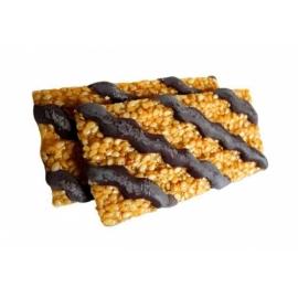 Sezamky Amki v hořké čokoládě Agros 30g