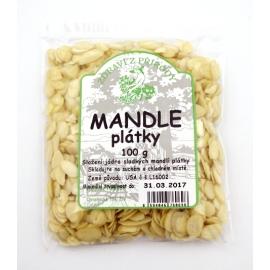 Mandle plátky 100g