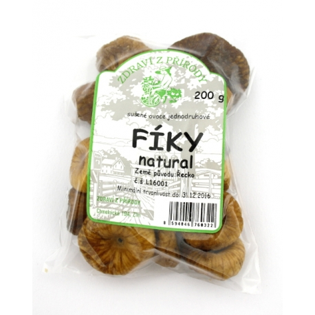Fíky sušené natural 200g