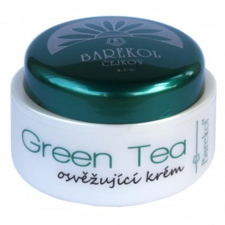 GREEN TEA - osvěžující krém se zeleným čajem 50ml