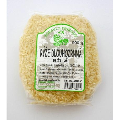 Rýže dlouhozrnná bílá 500g