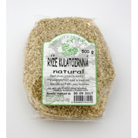 Rýže kulatozrnná natural 500g