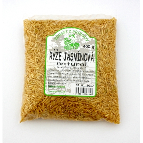 Rýže Jasmínová natural 400g