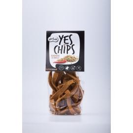 Chipsy čočkové s chilli YES CHIPS 80g