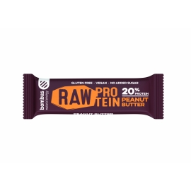 Bombus raw protein tyčinka PEANUT BUTTER 50g
