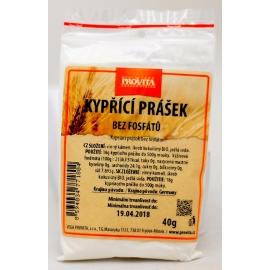 Prášek kypřící bez fosfátů Provita 40g