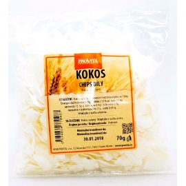 Kokos chips bílý ZP 100g