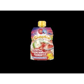 Ovocňák pyré jablko-jahoda 120ml