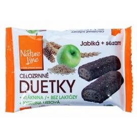 Duetky sušenky celozrnné Nature Line 50g