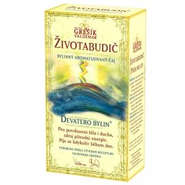 Životabudič bylinný aromatizovaný čaj Grešík 50g