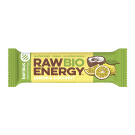 Bombus raw bio energy Lemon & Coconut 50g