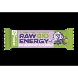 Bombus Raw Bio Energy Black Currant & Coconut 50g