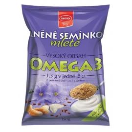 Lněné semínko mleté ochucené Semix 100g