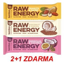 Bombus RAW ENERGY 2+1 ZDARMA