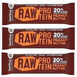 Bombus Raw Protein PEANUT BUTTER 2+1 ZDARMA