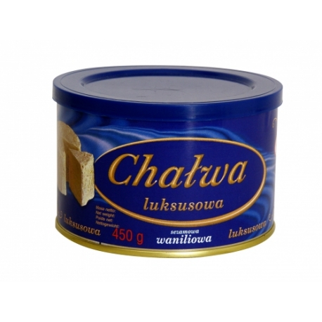 Chalva vanilková - plech Agros 450g